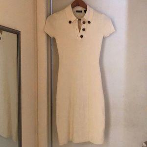 Short sleeved sweater dress